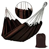 BB SPORT Tuch Hängematte Taino XL 220 x 170 cm in vielen Farben, Farbe:Chocolate