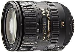 Nikon 16-85mm f/3.5-5.6G ED VR AF-S DX NIKKOR Schwarz - Kameraobjektive (17/11, f/22-36, 0,38 m, f/3.5-5.6, 16-85 mm, 1/4.6)