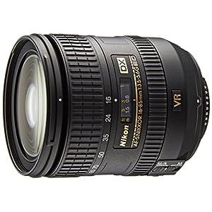 Nikon 16 – 85 mm f/3.5 – 5.6 G ED VR AF-S DX Nikkor Lens for Nikon (Focal Length 24 – 128 mm, Opening F/3.5, Optical Image Stabilizer, Diameter: 67 mm) Black