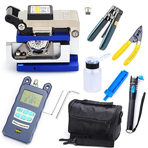 Fiber Optic FTTH Werkzeug Kit FC-6S Optischer Cleaver Power Meter Visual Finder Fiber Power Meter