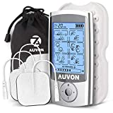 AUVON AUVON Rechargeable TENS Unit Muscle Stimulator (FDA 510K Cleared), 16 Modes 2-in-1