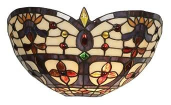 Oaks Lighting Jessamine Applique murale Style Tiffany