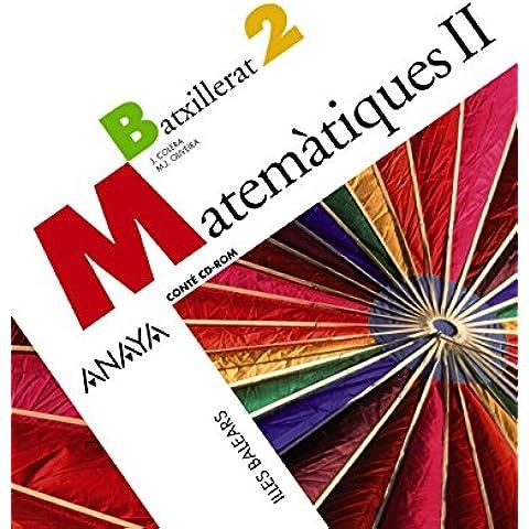 Matemàtiques II.