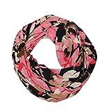 TianWlio Schals Frauen Weihnachten Mode Winter Thermische Aktive Infinity Schal mit Reißverschlusstasche