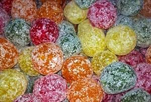 Mega Sour Assorted Fruit Fizz Bombs (extremely sour) 500 gram bag (1/2 kilo)