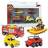 Feuerwehrmann Sam - Mini Set mit Hydrus, Jupiter, Neptun und Jeep thumbnail