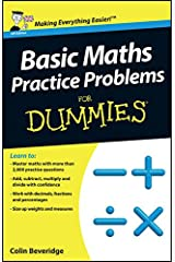Basic Maths Practice Problems For Dummies Paperback