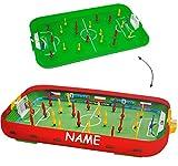 alles-meine.de GmbH Tischfußball - Spiel - incl. Name __ Komplettset incl. Spieler & Ball & Tor - Fußballspiel - Fußball / Kicker für den Tisch - Tischfussball Spiel - Tischfußba..
