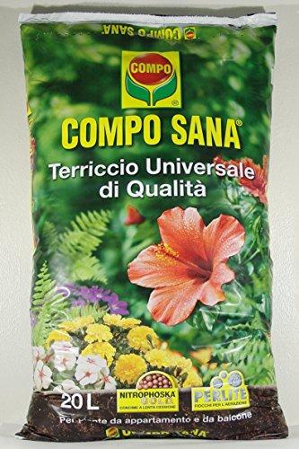 COMPO SANA Materias TERROSAS universal de calidad en envase de 50 LT