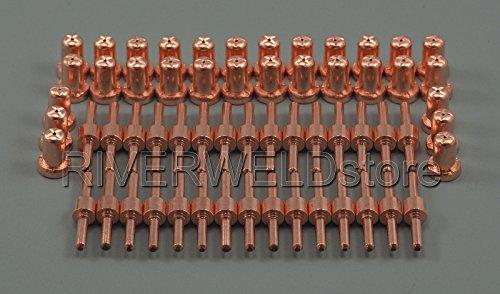pt-31lg-40Plasma Cutter Schneiden Verbrauchsmaterialien Kit Extended 60pcs