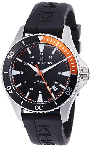 Hamilton Reloj de Hombre automático 40mm Correa de Goma Color Negro H82305331