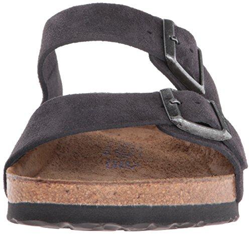 Birkenstock Arizona Soft Footbed Mens Velvet Grey