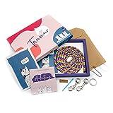 Taumur DIY-Set mit PPM-Seil für einfach Verstellbare Hundeleine - bunt/lila