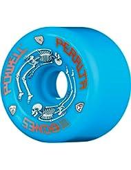 de Powell Ruedas de Skateboard Powell Peralta G Bones - Azul 64mm