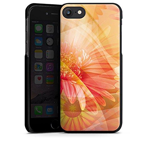Apple iPhone X Silikon Hülle Case Schutzhülle Blüten Blumen Pflanzen Hard Case schwarz