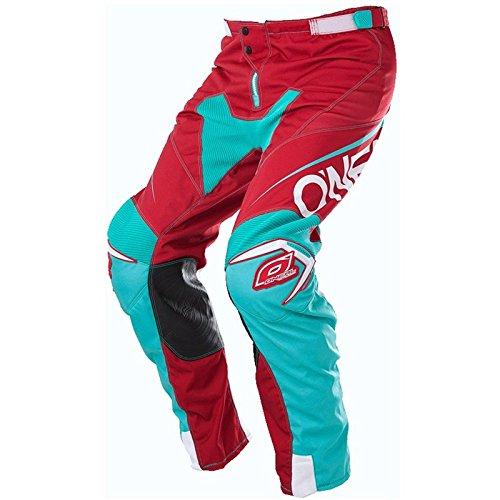 O'Neal Mayhem Lite MX Hose Blocker Rot Blau Motocross Enduro Offroad Quad Pants, 0130A-3, Größe 32/48 -