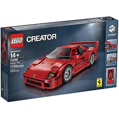 LEGO Creator Expert Ferrari F40 Kit (1158 Piece) (10248) by LEGO