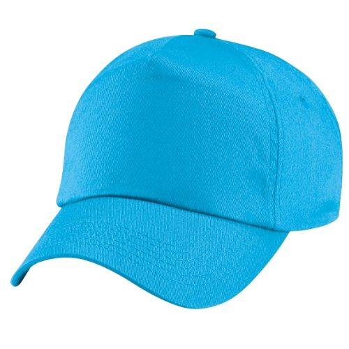 Beechfield - cappellino 100% cotone - unisex (taglia unica) (azzurro mare)