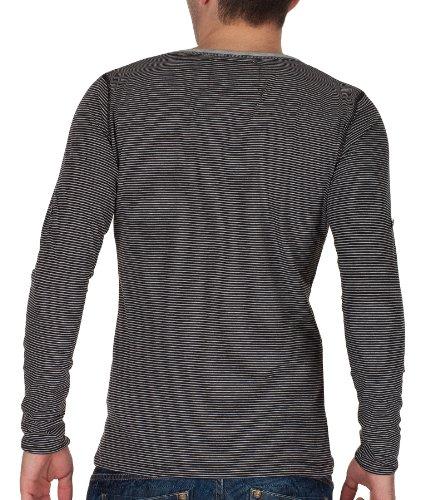 VSCT Clubwear Herren Rundhals Shirts 5640225 Schwarz