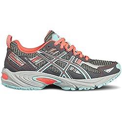 Asics Gel Venture 5 GS Zapatillas, Mujer, Gris, 37.5