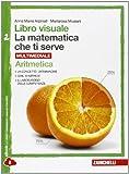 Libro visuale la matematica che ti serve. Aritmetica 2-Geometria 2. Per la Scuola media. Con e-book. Con espansione online