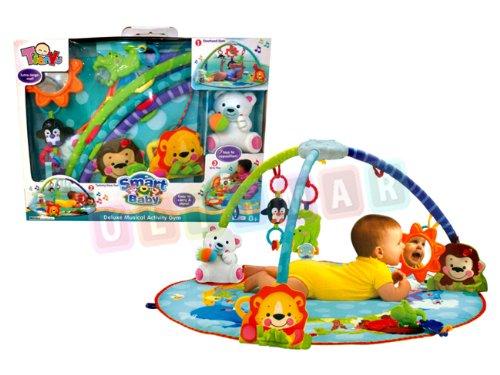 Erlebnisdecke Baby 3in1 - Matte für Baby WYSPA - Activity Gym - Spieldecke mit Spielbogen und Spielzeug - Krabbeldecke - Baby Gym - Spiel-Matte (Baby Gym-spiel-matte)