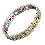 Best Magnetic Therapy Bracelets - EBUTY Titanium Magnetic Therapy Bracelet 4 Element Review
