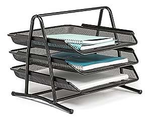... Kincart 3 Tier Document, File, Paper, Letter, Office, Desktop Tray /  Organizer
