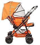 #9: Tiffy & Toffee Baby Shower Stroller Pram (Pumpkin Orange)