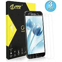 CRXOOX Cristal Templado para Samsung Galaxy A5, Protector de Pantalla, [3-Unidades