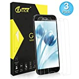 CRXOOX Cristal Templado para Samsung Galaxy A5, Protector de Pantalla, [3-Unidades], 9H Dureza, Alta Definicion 0.33mm, 2.5D Round Edge