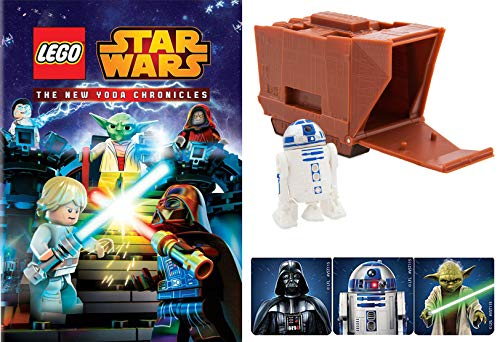 Escape Jedi Temple Starr Wars Lego Animated episodes New Chronicles of Yoda Animated DVD + Mini Droid Figure Pack