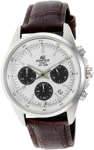 Casio Edifice Chronograph White Dial Men's Watch - EFR-527L-7AVUDF (EX102)
