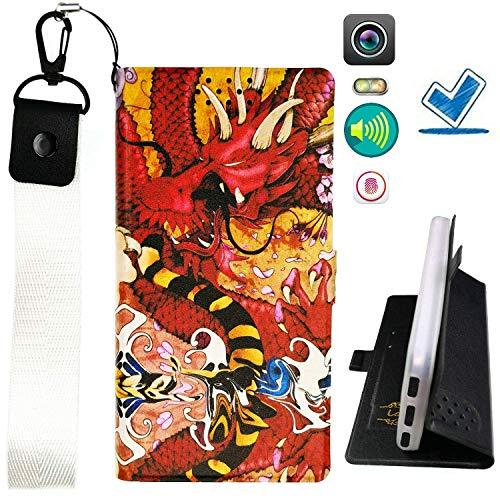 HYJPT Hulle fur Elephone P7000 Hülle Flip PU-Leder + Silikon Cover Case Fest LHD