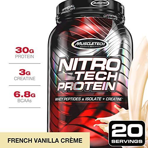 Muscletech Supplemento Nutrizionale Nitro Tech Performance Series 2 lb Vainilla 907 gr