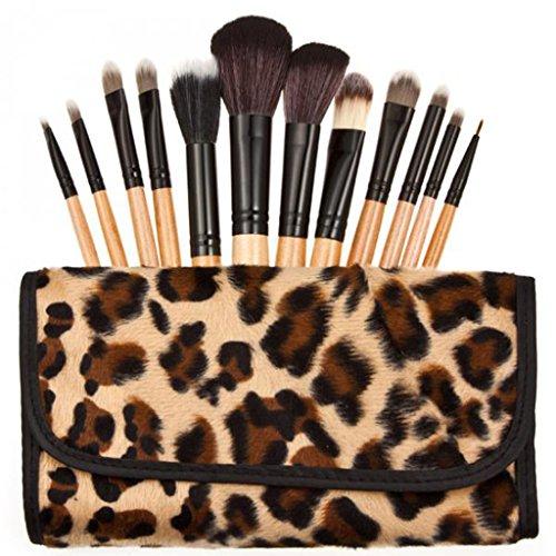 12pcs Pinceau de Maquillage Crayon à Sourcils