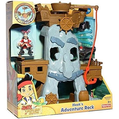 Mattel X4986 Fisher-Price Jake y los piratas de Nunca Jamás - Roca de aventuras del Capitán