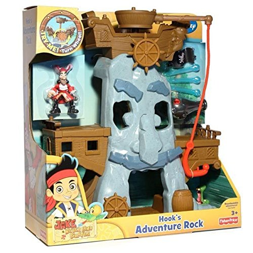 Und Nimmerland Cartoon Jack Die Piraten (Mattel Fisher-Price X4986 - Jake und die Nimmerland Piraten Hooks)