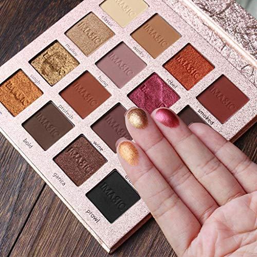 Sombras ojos, Hanyixue IMAGIC 16 Color Shimmer Glitter