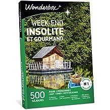 ed5bb51874d Wonderbox – Coffret Cadeau séjour - WEEK END INSOLITE ET GOURMAND – 500  séjours en tipis