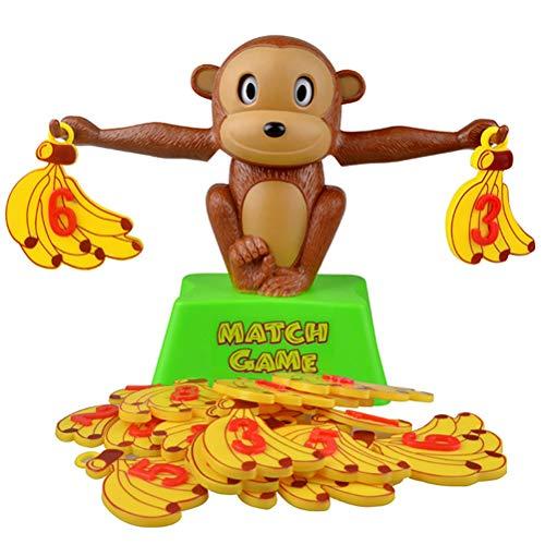 Daxoon AFFE Banane Balance Mathe-Spiel Digital Waage Spielzeug Geschenk für Jungen und Mädchen