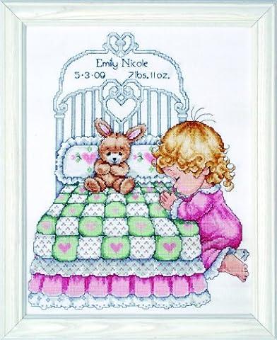 Tobin Bedtime Prayer Girl Sampler,