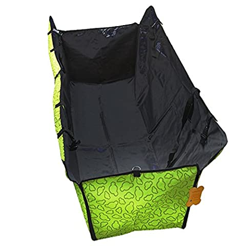 ADOGO Dog Hammock Car Seat Cover- Protect Your Car, Truck or SUV From Dirt, Hair or Dander With This Durable Super Soft Heavy Gauge Waterproof Fabric - Perfect for Large & Small
