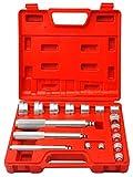 Coffret outils montage/chasse roulements et joints 17 pcs (Ref.WT/04J1041)