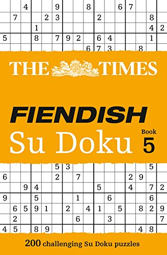 The Times Fiendish Su Doku Book 5 por The Times Mind Games