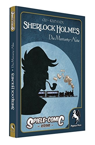 Spiele-Comic Krimi: Sherlock Holmes 02 - Die Moriarty-Akte (Hardcover) (Spielen)
