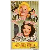 Gentlemen Prefer Blondes Plakat Movie Poster (11 x 17 Inches - 28cm x 44cm) (1953) Spanish