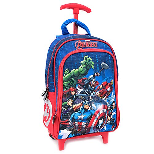 Disney marvel avengers - mini trolley asilo - scuola materna