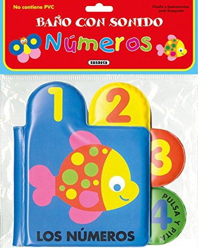 Números (Baño con sonido) por Susaeta Ediciones S A