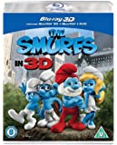 The Smurfs (Blu-ray 3D + Blu-ray + DVD) [2011] [Region Free]